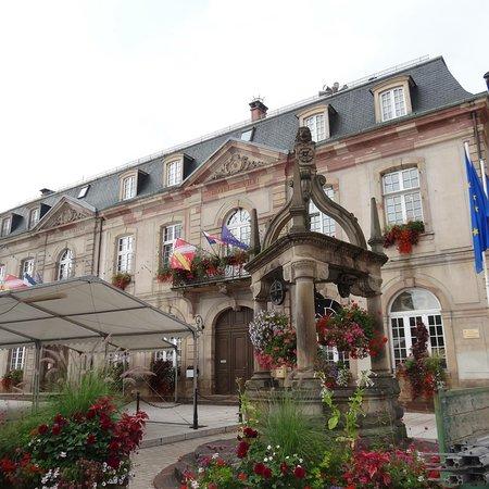 Boersch, Frankrike: Beautiful Alsatian small town