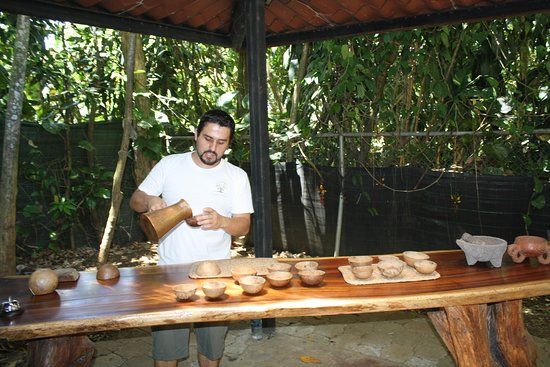 Go Tours Costa Rica - Day Tours: Tasting cacao flavored drinks