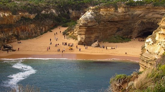 The Great Ocean Road: Loch Ord Gorge area