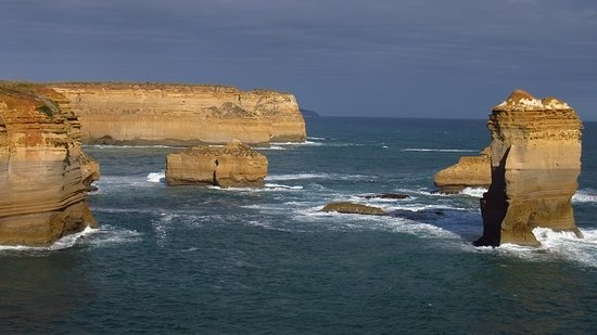 The Great Ocean Road: East view from Razorback