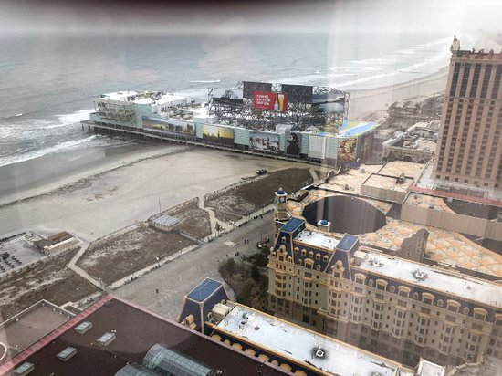 Bally's Atlantic City: View from room 4334.