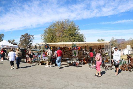 La Paz County Park: Market