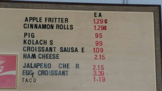 Lake Dallas, Техас: Ozzie's Donuts