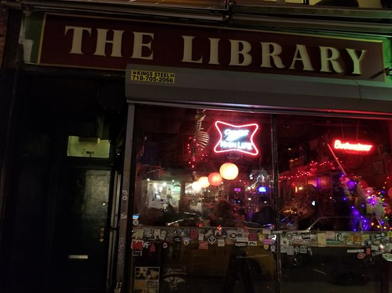 ‪Library Bar East Village NYC‬