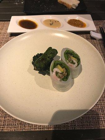 Refined Menu - Rolls (No seafood) (Grilled beef in betel leaves, boiled pork)