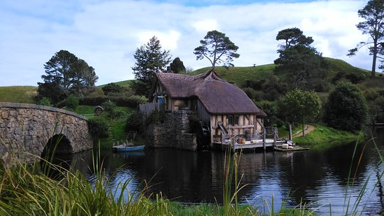 Small-Group Hobbiton Movie Set Tour from Auckland with Buffet Lunch: Hobiton