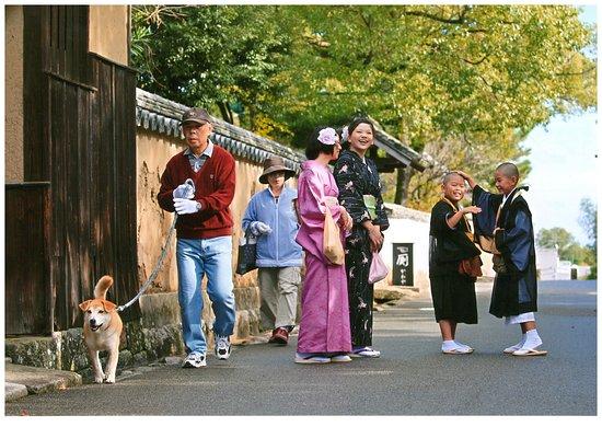 Rental Kimono Warakuan: 北台武家屋敷通り2