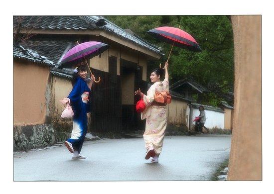 Rental Kimono Warakuan: 北台武家屋敷通り3