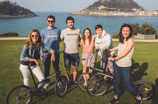 San Sebastián City Bike tour with Pintxo
