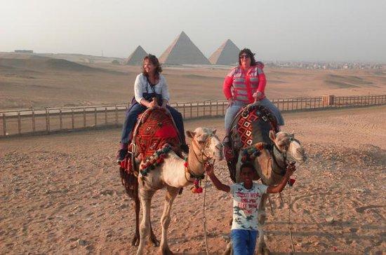 Sunrise or Sunset Camel Ride autour...