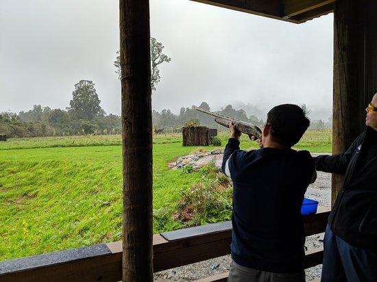 Franz Josef Clay Target Shooting