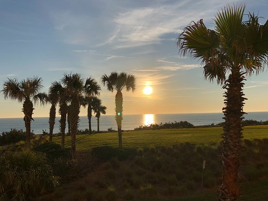 Cinnamon Beach at Ocean Hammock Beach Resort: View from our balcony every morning