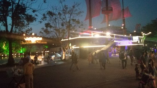 Imagica Theme Park: From the central cafeteria