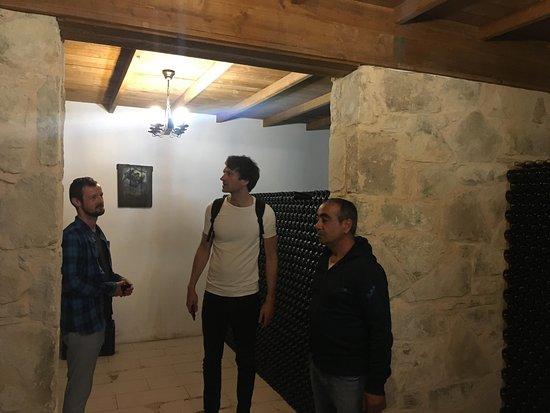 Tsangarides Winery: Cellar tour
