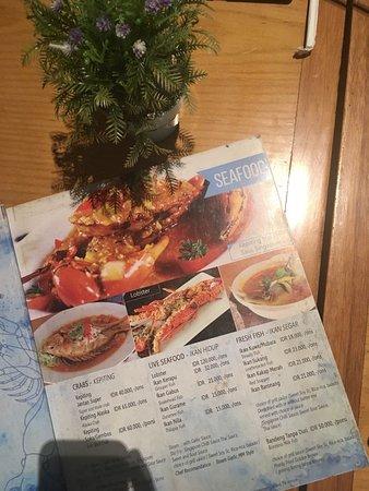 MM Resto Seafood & Ikan Bakar: Salah satu menu MM Resto