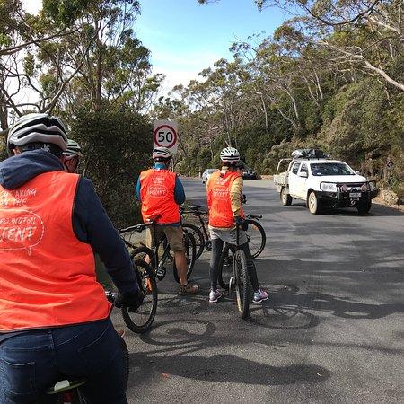 Mt Wellington Descent Bike Ride: photo1.jpg