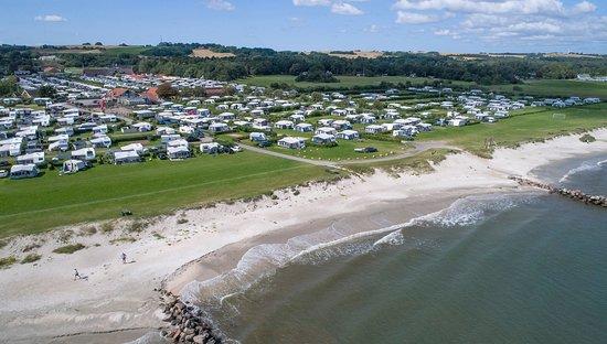 kart over campingplasser i danmark Hedebo Strand Camping North Jutland (Saeby, Danmark  kart over campingplasser i danmark