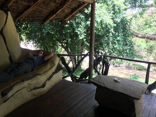 Basecamp Masai Mara: habitación con vistas al río
