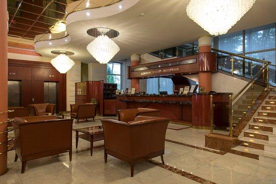 Arbat Hotel: Стойка регистрации