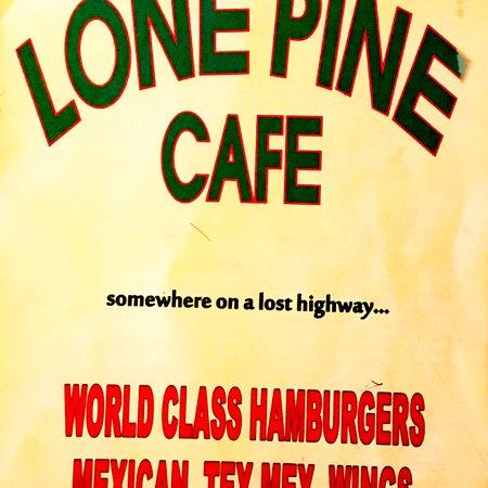 Taqueria Corona Restaurant: Menu 2018 April (renamed Lone Pine, same owners, same Mexican)