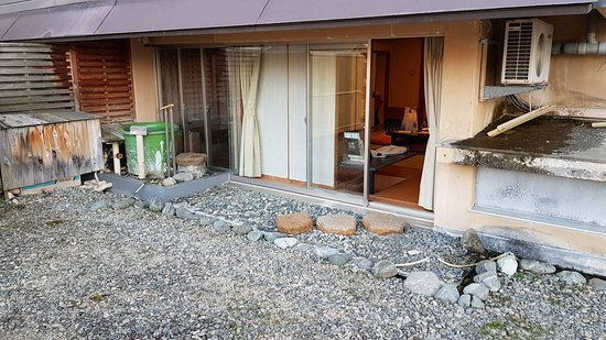 Hotel Futaba: Room with huge terrace ...instead of the usual balcony