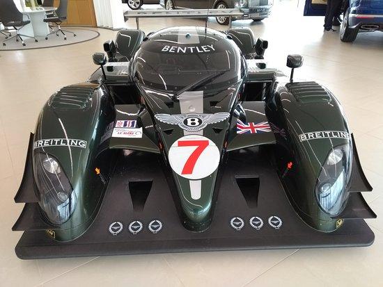 Bentley Le Mans Front Picture Of Bentley Motors Factory Tour