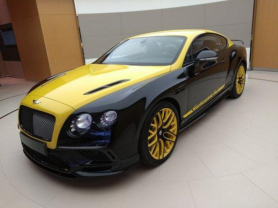 Bentley Continental Blancpain model - Picture of Bentley Motors ...