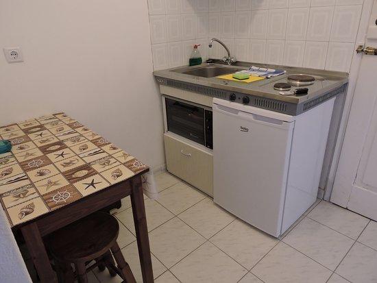 Gavrion, اليونان: coin cuisine