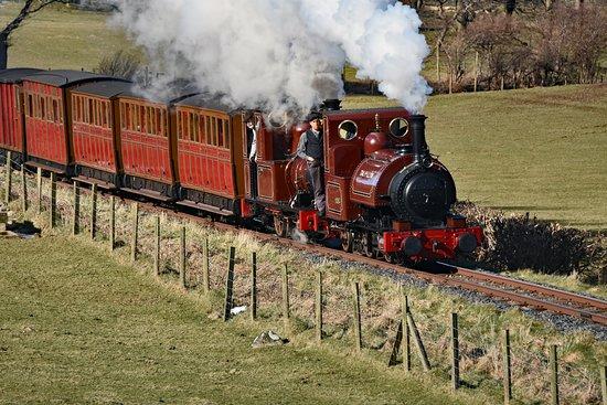 Talyllyn Railway: Talyllyn leading the way