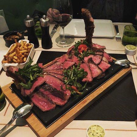Meatery: finest Porterhouse (1200g) and Bone-In Rib Eye (600g)