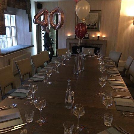 Fantastic 40th birthday party