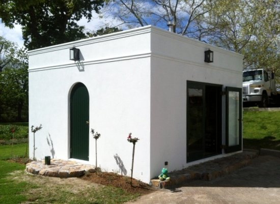 Constantia, Sudáfrica: Our little roastery at Buitenverwachting