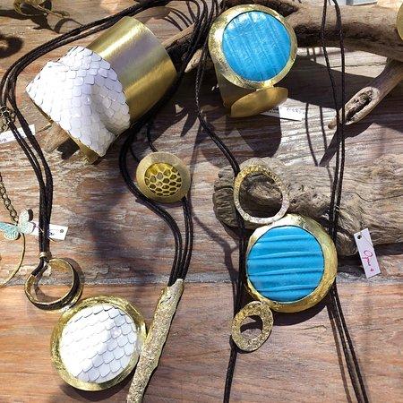 Tina Kotsoni s jewellery - Picture of Iliachtina Arts - Crafts ... 5fd755d262e