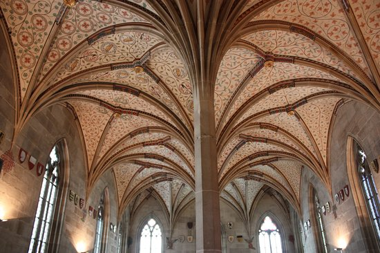 Bebenhausen Abbey, Summer refectory Gothic and historicism style