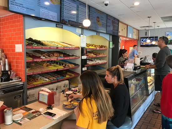Dandee Donut Factory: Order Counter and Donut Display