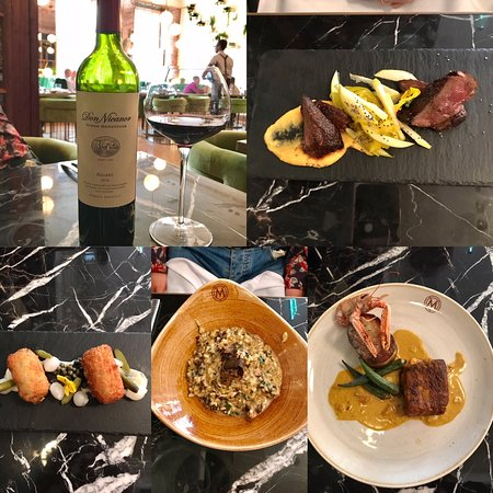 Masons Restaurant Bar: Our dishes & wine for lunch