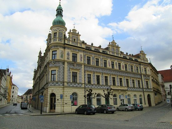 Pisek, Czech Republic: Building. No. 50