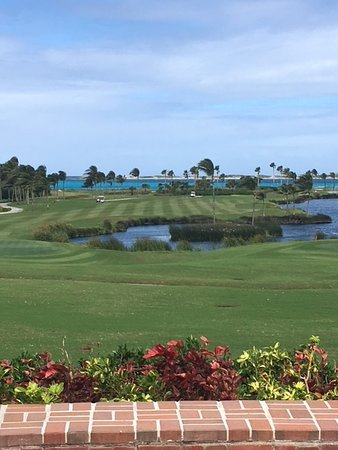 Ocean Club Golf, view from the patio