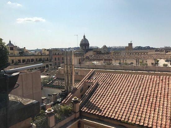 Vista Sui Tetti Di Roma Picture Of Minerva Roof Restaurant