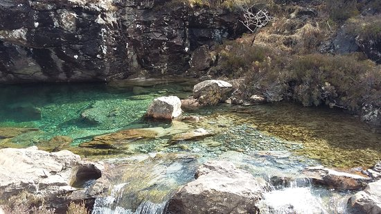 One of the first fairy pools on the path :)
