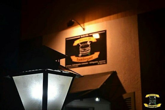 Sao Mateus do Sul, PR: Fachada da hamburgueria