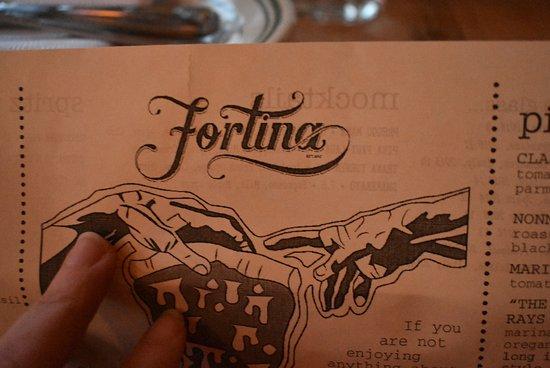 Armonk, نيويورك: Fortina!