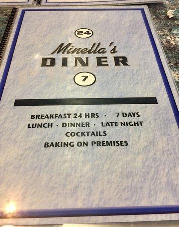 Wayne, PA: Minella's Menu