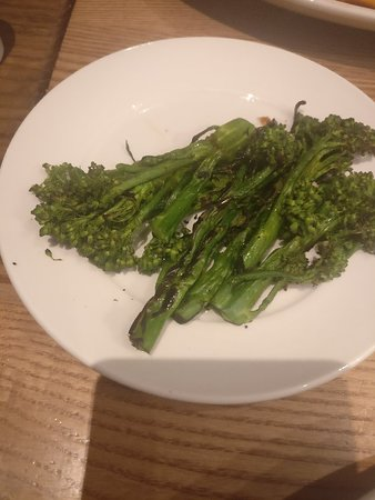 Not tender the stem broccoli