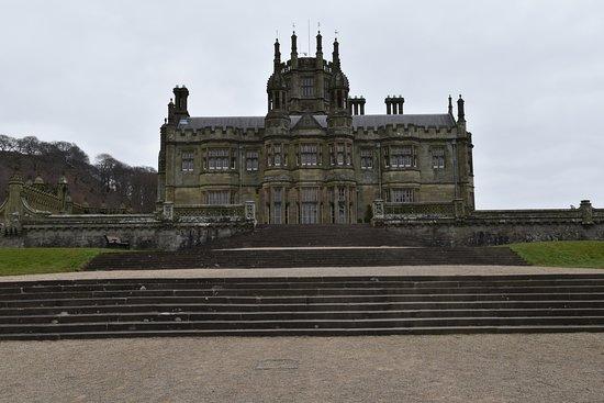 Margam Park: Close up of the castle