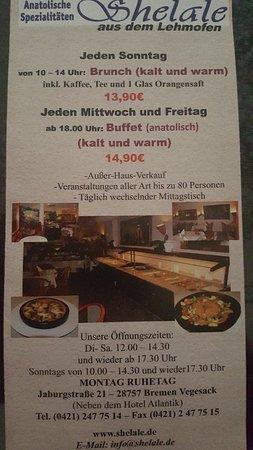 Brunch Und Buffet Bild Von Shelale Bremen Tripadvisor