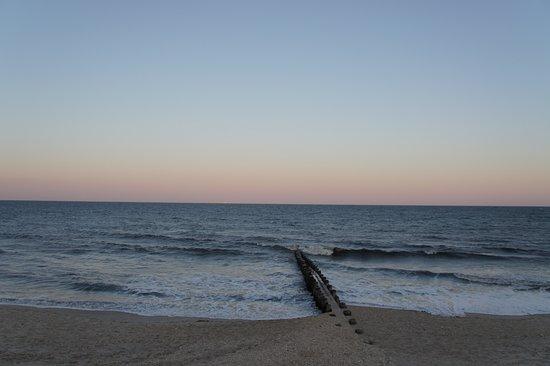 Bay head beach also block away