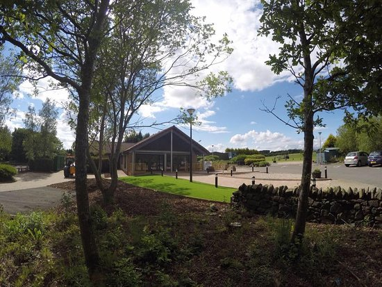 Kirkcaldy, UK: Clubhouse