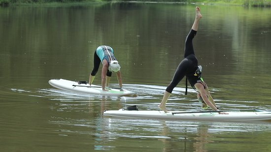 Paddleboard Yoga Picture Of Skyterra Wellness Retreat Weight