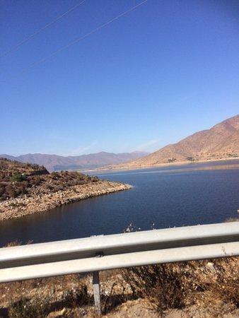 Coquimbo Region, Chile: Donde comienza el embalse